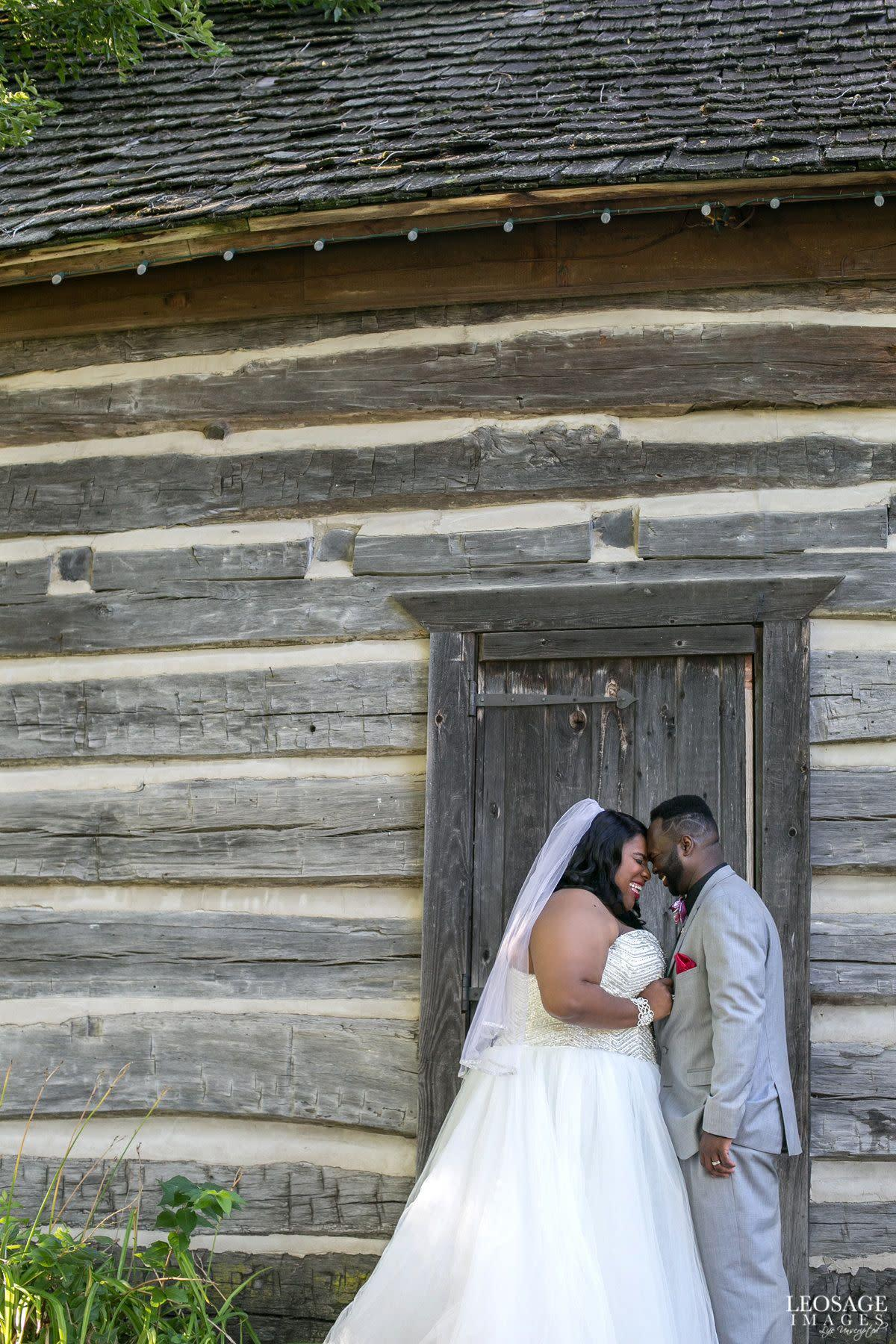 """""""Congratulations to Aaron&nbsp;and Martinez, married in Detroit, Michigan. These smiles pretty much sum up their beautiful wedding day."""" --&nbsp;<i>Shaleena Cole</i>"""