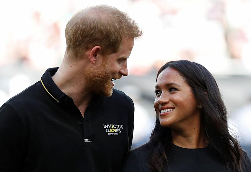 According to immigration experts, it's likely that Meghan Markle would sponsor her husband, Prince Harry, if they apply to become Canadian citizens. (Photo: PETER NICHOLLS via Getty Images)
