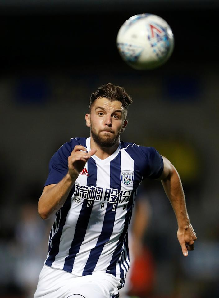 Soccer Football - Burton Albion vs West Bromwich Albion - Pre Season Friendly - Burton upon Trent, Britain - July 26, 2017   West Brom's Jay Rodriquez in action    Action Images via Reuters/Carl Recine