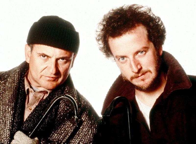 Joe Pesci and Daniel Stern in 'Home Alone'. Credit: Hughes Entertainment/20th Century Fox