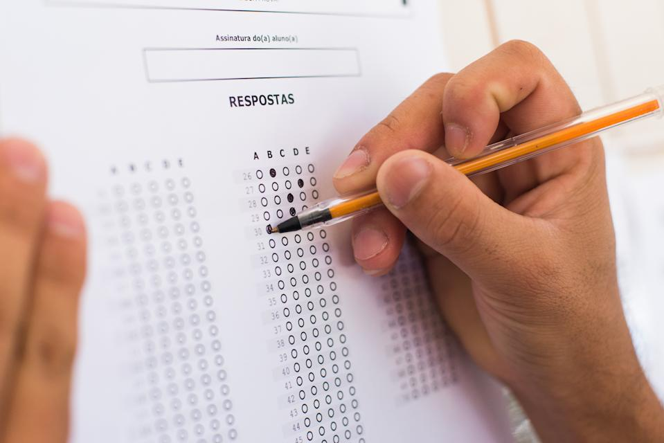 Exame Nacional do Ensino Médio - ENEM - Brazilian National High School Exam.