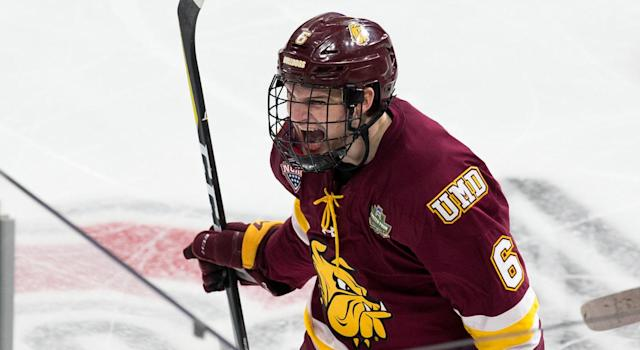 Minnesota Duluth and Notre Dame meet in the NCAA championship (Getty)