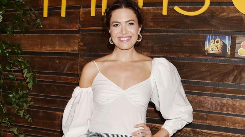 "Mandy Moore Got Gorgeous ""Autumn Glow"" Hair for Fall"
