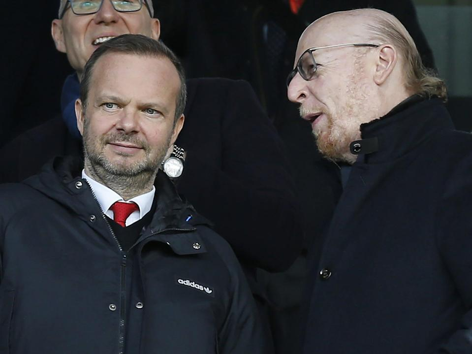 Ed Woodward has been central to discussionsAFP via Getty Images