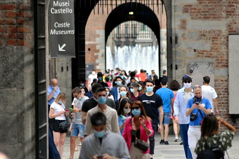 """A doctor from Italy has said the coronavirus """"clinically no longer exists in Italy"""", where the virus devastated the country and rigid lockdowns were implemented. Source: PA"""