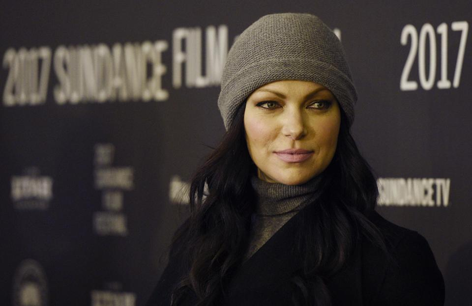 <p>'Orange Is The New Black' star Prepon revealed that she was a Scientologist back in 2007. She's deep in it, telling the Church's magazine Celebrity that finding Scientology was 'amazing, and I felt that finally something was speaking my language. It totally connected with me'. (AP) </p>