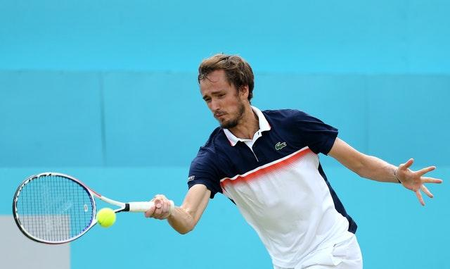 Daniil Medvedev has rocketed up the rankings (Steven Paston/PA)