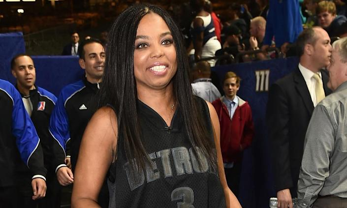 "<span class=""element-image__caption"">Jemele Hill at the 2017 NBA all-star celebrity game in New Orleans.</span> <span class=""element-image__credit"">Photograph: Theo Wargo/Getty Images</span>"