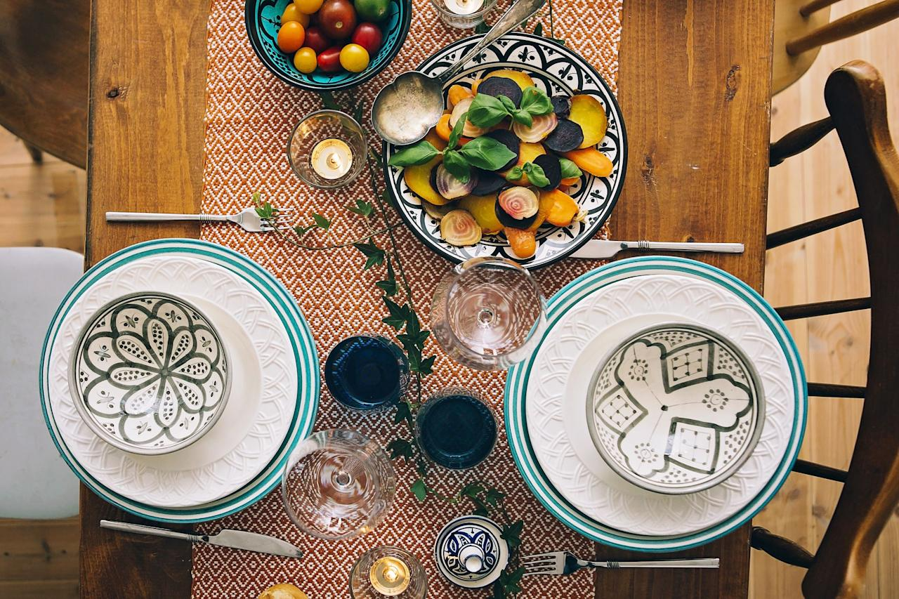 """<p>When it comes to Thanksgiving, the food matters most—but that doesn't mean your table setting isn't a priority. Little details, from hand-written <a href=""""https://www.housebeautiful.com/lifestyle/how-to/g1984/thanksgiving-place-cards-diy/"""" target=""""_blank"""">place cards</a> to unexpected colors and motifs, can help make for a memorable meal during the holidays. These beautiful items are sure to transform your Thanksgiving table into your best your <a href=""""https://www.housebeautiful.com/entertaining/table-decor/tips/g3619/table-setting-ideas/"""" target=""""_blank"""">best tablescape ever</a> (and one that's totally Instagrammable!)</p>"""
