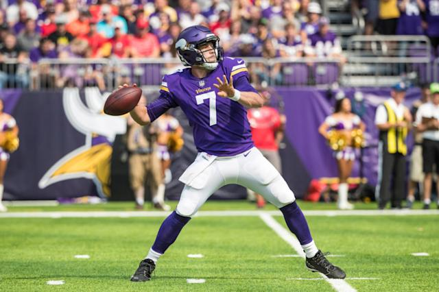 Teddy Bridgewater could back up Case Keenum