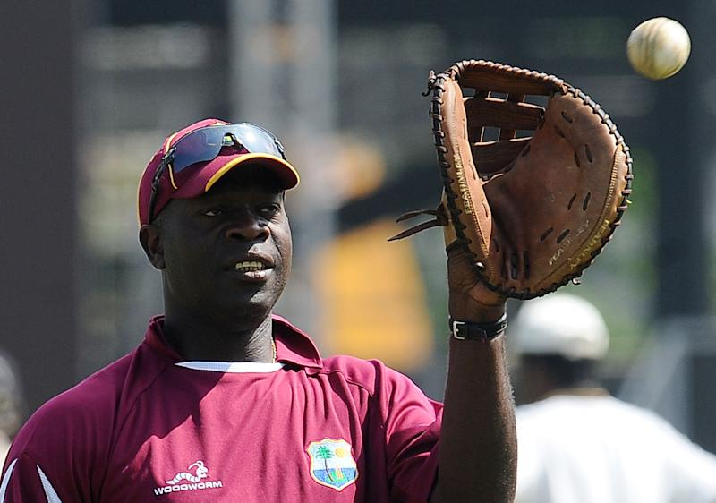 West Indies cricket coach Ottis Gibson, seen during a practice session at The R.Peremadasa Stadium in Colombo, on February 11, 2011