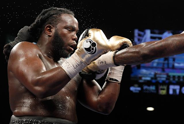 Bermane Stiverne remains hospitalized after title bout with severe dehydration