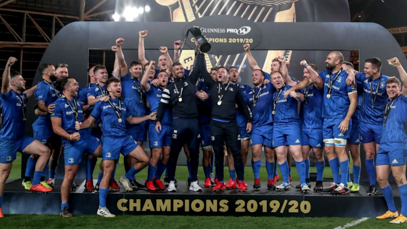 Leinster 27-5 Ulster: Pro14 holders make it three in a row in sensational style