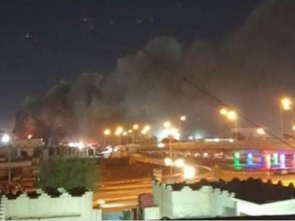 Fire breaks out at COVID-19 Imam Al-Hussein Hospital in southern Iraq (Photo Credit - Arab News)