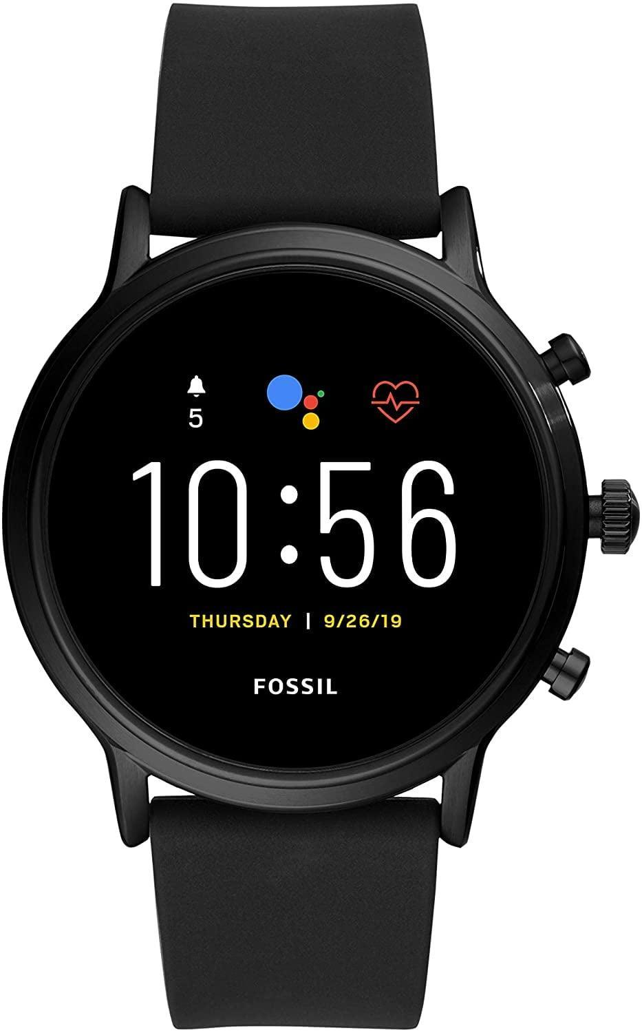 <p><span>Fossil Unisex 44MM Gen 5 Carlyle HR Heart Rate Stainless-Steel and Silicone Touchscreen Smart Watch</span> ($189, originally $295)</p>