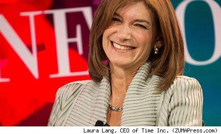 Laura Lang, CEO of Time Inc.