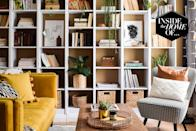 """<p>Medina Grillo has made a career out of making rentals feel like homes. In fact, she's so good at overcoming renting restrictions and creating spaces filled with personality and style that she's written a book about it, <a href=""""https://www.amazon.co.uk/s/?ie=UTF8&keywords=home+sweet+rented+home&index=aps&tag=hearstuk-yahoo-21&ref=pd_sl_5b1hapy1m5_e&adgrpid=67628394946&hvadid=338654928152&hvnetw=g&hvrand=6783421738609642175&hvqmt=e&hvdev=c&hvlocphy=9073583&hvtargid=kwd-661220466222&hydadcr=23989_1815414&gclid=Cj0KCQiA7NKBBhDBARIsAHbXCB7AxxkpY6IkC5bjhufSinv2MjRn0NHR_i_oyIhLt7aclW3-1VqTToYaAlNLEALw_wcB&ascsubtag=%5Bartid%7C1927.g.35595137%5Bsrc%7Cyahoo-uk"""" rel=""""nofollow noopener"""" target=""""_blank"""" data-ylk=""""slk:Home Sweet Rented Home."""" class=""""link rapid-noclick-resp"""">Home Sweet Rented Home.</a></p><p>The author and interiors blogger lives in a semi-detached, three-bedroom rental property in Birmingham with her husband and son. Although the house is free of intricate features such as fireplaces or decorative cornicing, Grillo has applied her skills and imagination to create a home that is full of character and vibrancy. Her one tip for injecting personality in a rented living space? """"When you can't paint, add art,"""" she says. """"Art brings colour and personality to any room. Hanging art can take many forms. While the best might be a single, large canvas on the wall behind the sofa, large paintings can be expensive. Another option is to buy a selection of identical or similar frames to create a 'gallery' and fill them with photographs and/or prints.""""</p><p>Take a tour of Grillo's home below, and follow her on Instagram at <a href=""""https://www.instagram.com/grillodesigns/?hl=en"""" rel=""""nofollow noopener"""" target=""""_blank"""" data-ylk=""""slk:@grillodesigns."""" class=""""link rapid-noclick-resp"""">@grillodesigns.</a></p>"""