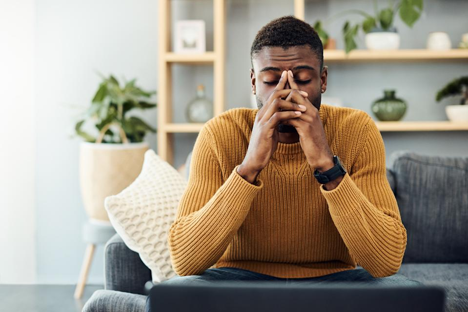 When we don't get enough sleep, it's very stressful for the body and can lead to excess cortisol. Photo: Getty