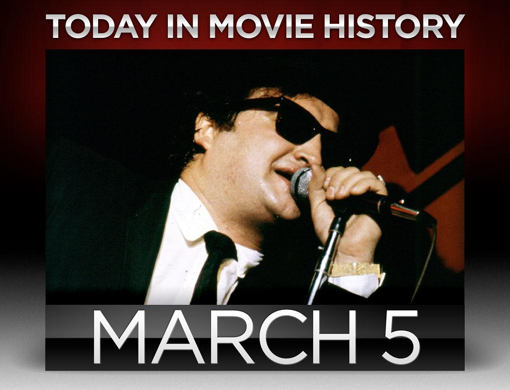 "<strong>1982</strong> – Actor, comedian and former Saturday Night Live star <a href=""http://movies.yahoo.com/person/john-belushi/"">John Belushi</a>, 33, was found dead from a drug overdose at the Chateau Marmont in Los Angeles, California on this day. Though Belushi's life was cut short, his bigger-than life persona lives on in such comedy classics as ""The Blues Brothers"" (1980) and ""Animal House"" (1979), where his character Bluto famously uttered the rallying cry, ""Was it over when the Germans bombed Pearl Harbor?! Hell no! And it ain't over now.""   <br /><br />"