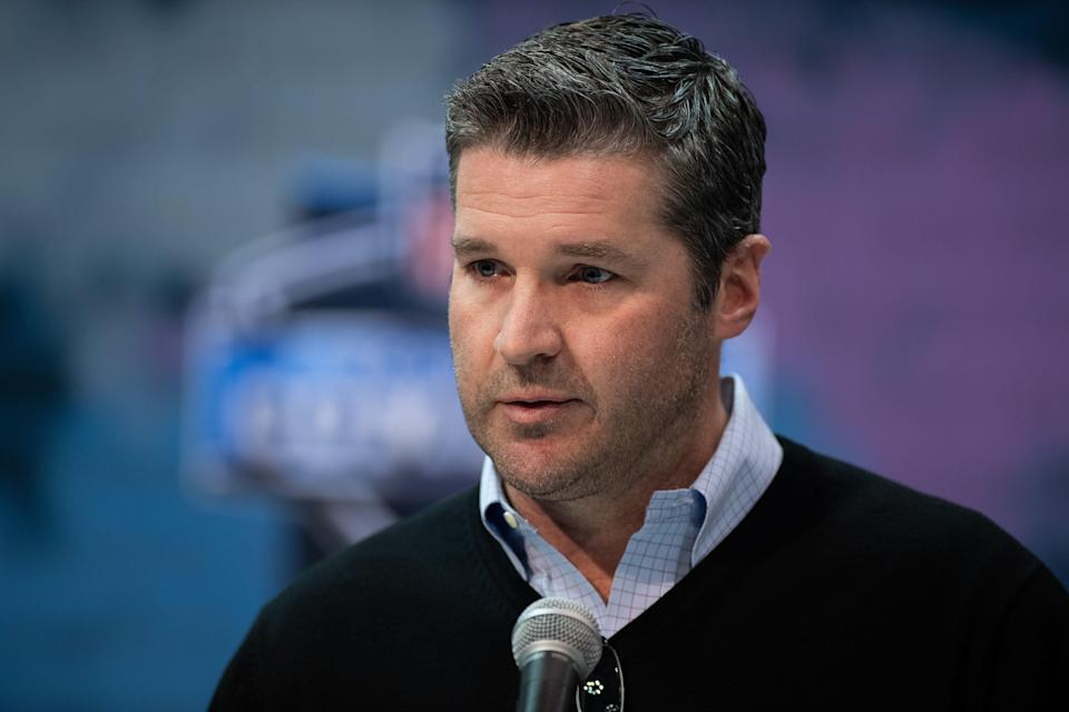 The Texans fired general manager Brian Gaine after he oversaw the team's draft and free agency moves. (Getty)