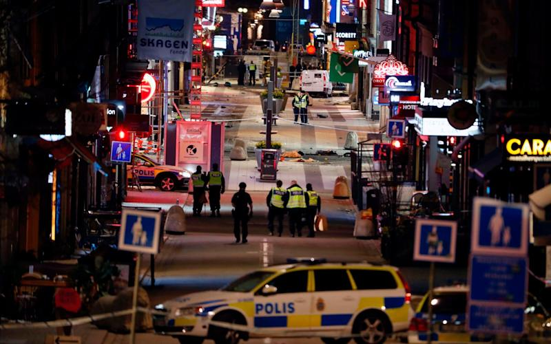 The attack in Stockholm is part of an ongoing trend in Europe - AFP