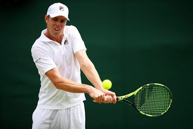 Sam Querrey returns to the Round of 16. (Getty)