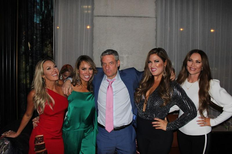 "Kelly Dodd at Moxy Chelsea's ""Guess Who B*tch"" Game Night with Rick Leventhal, Braunwyn Windham-Burke, Emily Simpson and LeeAnne Locken."
