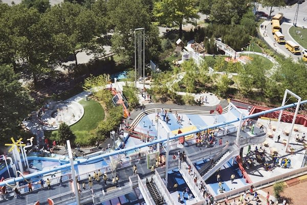 """<div class=""""caption-credit""""> Photo by: New York City Hall of Science</div><div class=""""caption-title"""">Science Playground, Queens</div>The playground at the New York Hall of Science is the biggest of its kind in the country. Explore sound, light, and mechanics or just swing and climb on the park's innovative equipment."""