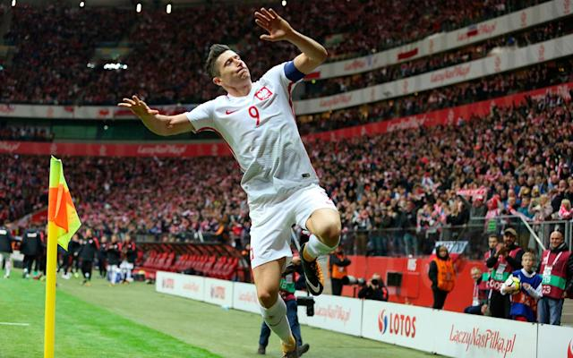 Poland's 2018 World Cup squad is thoroughly analysed below. This is your guide to everything you need to know about the players who will be representing their country at the tournament, when their games are taking place, who is in charge of the team, the key men to watch and how they're likely to fare in Russia. To read our comprehensive guide simply register with the Telegraph and log in to your account. Poland's World Cup squad - the 23 names 23-man final squad: Goalkeepers: Bartosz Bialkowski (Ipswich Town), Lukasz Fabianski (Swansea City), Wojciech Szczesny (Juventus). Defenders: Jan Bednarek (Southampton), Bartosz Bereszynski (UC Sampdoria), Thiago Cionek (SPAL Ferrara), Kamil Glik (AS Monaco), Artur Jedrzejczyk (Legia Warsaw), Michal Pazdan (Legia Warsaw), Lukasz Piszczek (Borussia Dortmund). Midfielders: Jakub Blaszczykowski (VfL Wolfsburg), Jacek Goralski (PFC Ludogorets Razgrad), Maciej Rybus (FC Lokomotiv Moscow), Piotr Zielinski (Napoli), Karol Linetty (UC Sampdoria), Grzegorz Krychowiak (West Bromwich Albion), Kamil Grosicki (Hull City), Slawomir Peszko (Lechia Gdansk), Rafal Kurzawa (Gornik Zabrze). Forwards: Robert Lewandowski (Bayern Munich), Arkadiusz Milik (Napoli), Lukasz Teodorczyk (RSC Anderlecht), Dawid Kownacki (UC Sampdoria). Poland fans in full voice Credit: getty images Poland's World Cup 2018 fixtures Senegal: Tuesday, June 19 at 4pm Colombia: Sunday, June 24 at 7pm Japan: Thursday, June 28 at 3pm You can follow The Telegraph's coverage of Poland vs Senegal live. Poland's World Cup record World Cup record: Poland What odds are Poland to win the World Cup? 50/1 The kits See where Poland's shirts ends up in our ranking of all 64 World Cup shirts below: World Cup kits ranked Who's the coach? Adam Nawalka. A star of Poland's run to the semi-finals of the 1978 World Cup and as coach he has taken the side into the world's top 10. Who's the star? Robert Lewandowski, who before scoring hundreds of goals for Borussia Dortmund and Bayern Munich was set to join Blackburn until an ash cloud delayed his flight. Best thing about them There are likely to be plenty of goals in their matches. In qualifying they averaged nearly three goals a game and conceded more than any other group winner. Worst thing about them The goalkeeping equivalent of the Gerrard-Lampard debate as Wojciech Szczesny and Lukasz Fabianski fight for the No 1 shirt. You may recognise... A sense of over-reliance on the main striker. Like Harry Kane, Lewandowski failed to score at Euro 2016 and his national side went out in the last eight. Cameramen will be picking out... The face of whichever goalkeeper is on the bench as the other makes a horrendous error. World Cup 2018 | All you need to know Fans' favourite chant 'Polska, Bialoczerwoni' - which, sung to the tune of 'Go West', means 'Poland, white and red'. On-field prediction Should get through the group but not get much further. Off-field prediction Huge travelling support means it'll be hard to miss the Poles this summer. Full 2018 World Cup squad lists and guides | Star to watch, odds, fans' chants and more WorldCup - newsletter promo - end of article