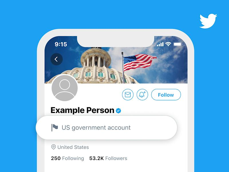 Twitter labels government officials, state-affiliated media