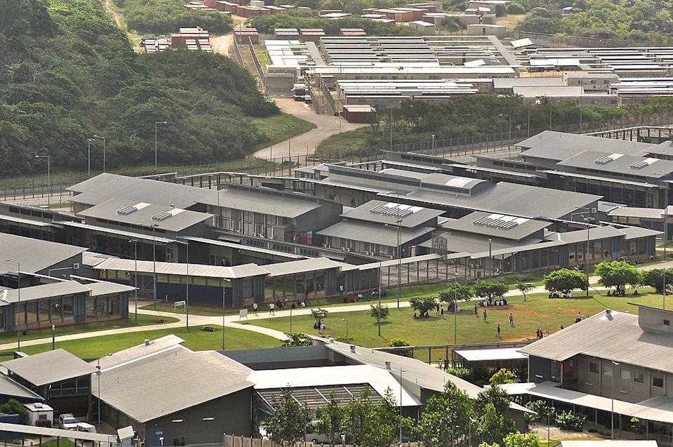CHRISTMAS ISLAND - JULY 26: Asylum seekers and facilities at Christmas Island Detention Centre, on July 26, 2013 on Christmas Island. (Photo by Scott Fisher/Getty Images)