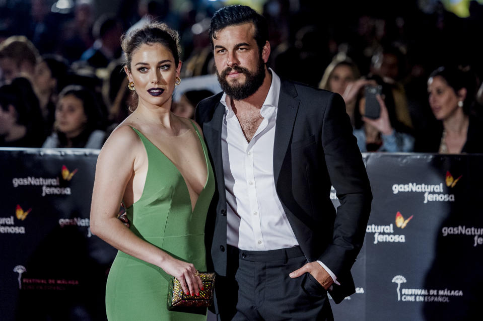 MALAGA, SPAIN - MARCH 17:  Blanca Suarez and Mario Casas attend the red carpet of the Gala Inaguration during the 20th Malaga Spanish Film Festival at the Cervantes Theater on March 17, 2017 in Malaga, Spain.  (Photo by Juan Naharro Gimenez/WireImage)