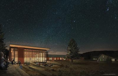 Yellowstone National Park's proposed Youth Campus will pursue Living Building Challenge (LBC) and Passive House certifications to become the first LBC-certified project in a national park. Image courtesy Hennebery Eddy Architects.