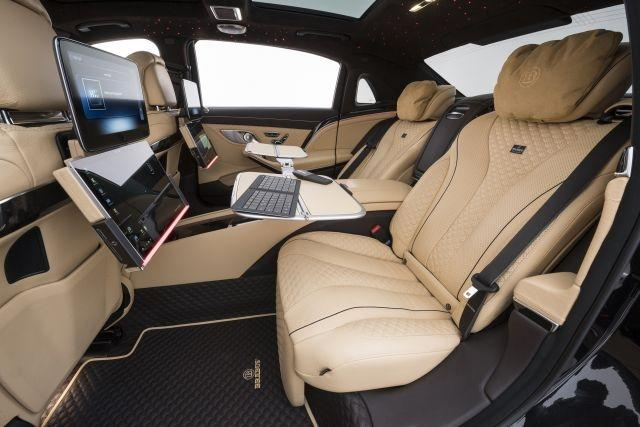 Inside the Brabus 900 based on the Mercedes-Maybach S 650