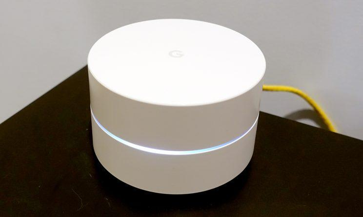 You can dim or turn off the Google Wifi's status light.