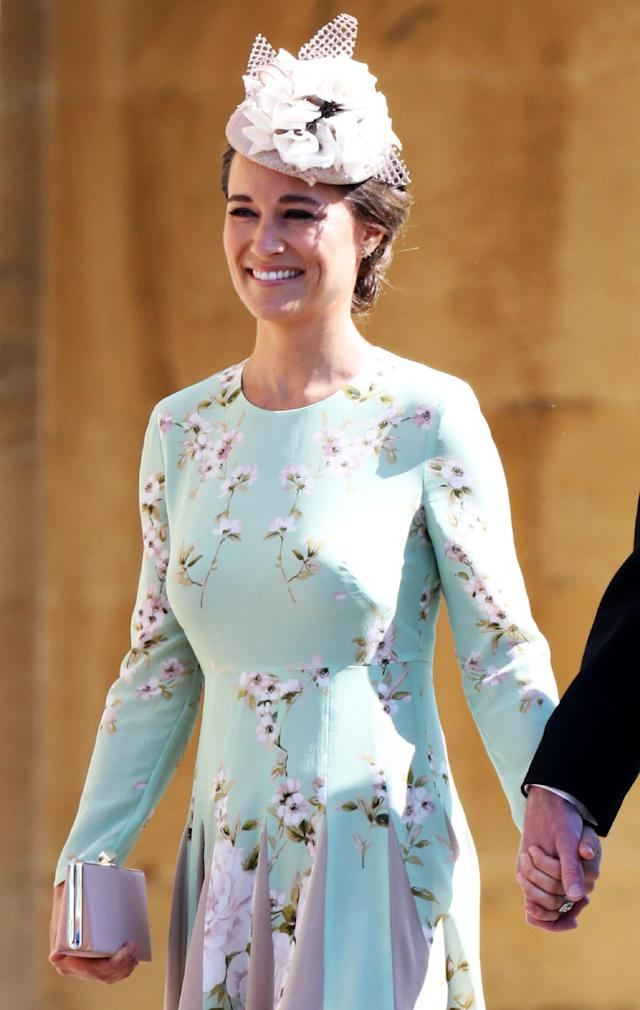 Pippa Middleton at the royal wedding May 19. (Photo: CHRIS JACKSON/AFP/Getty Images)