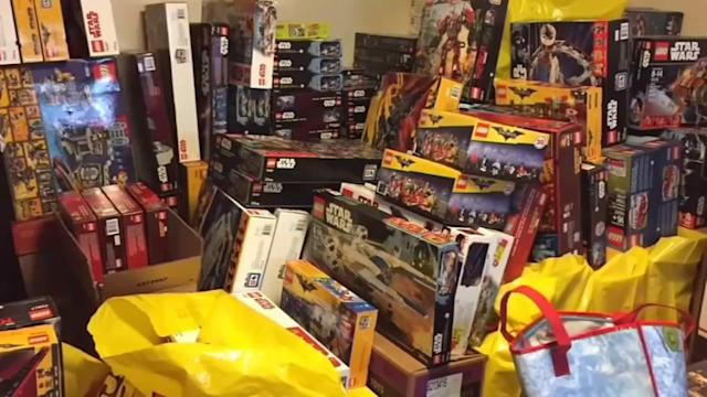 A Portland, Oregon man was arrested for allegedly organizing a Lego theft ring and selling thousands of dollars in stolen toys online.