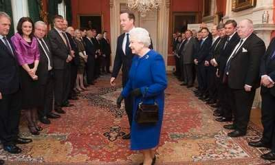 Queen Quizzes Osborne About Sale Of UK Gold