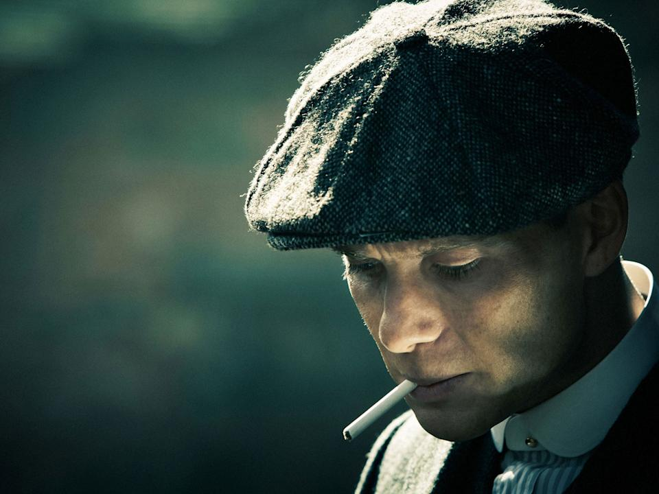 Cillian Murphy in Peaky Blinders (Robert Viglasky/Tiger Aspect/BBC)
