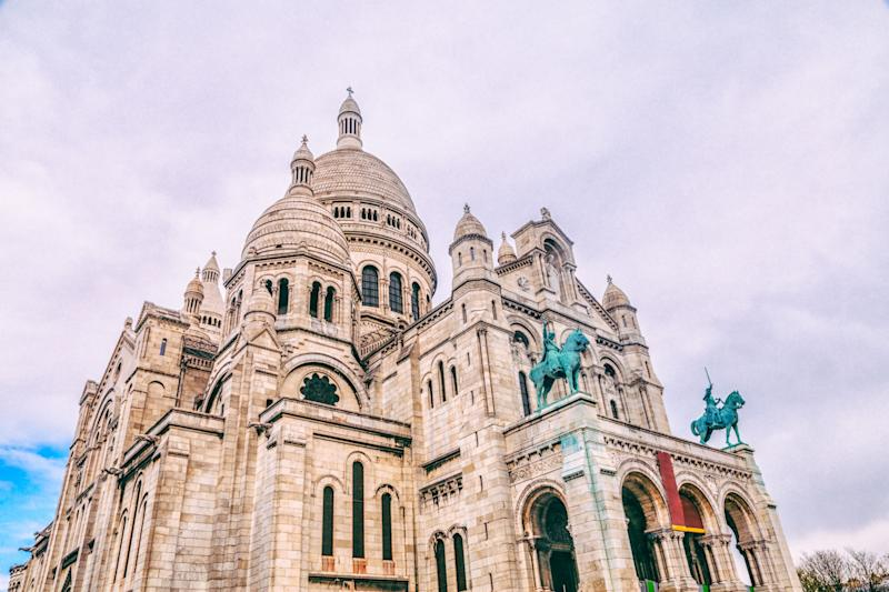 "The Sacré-Cœur sits atop the hill of Montmartre, Paris's artistic district. Not only is it one of the most important <a href=""https://www.orbitz.com/blog/2017/04/europes-20-most-beautiful-churches/"" target=""_blank"">European basilicas</a>, but it provides a breathtaking panoramic view of Paris' skyline. Visitors can climb 270 steps to the top of the Sacré-Cœur for an unforgettable experience."