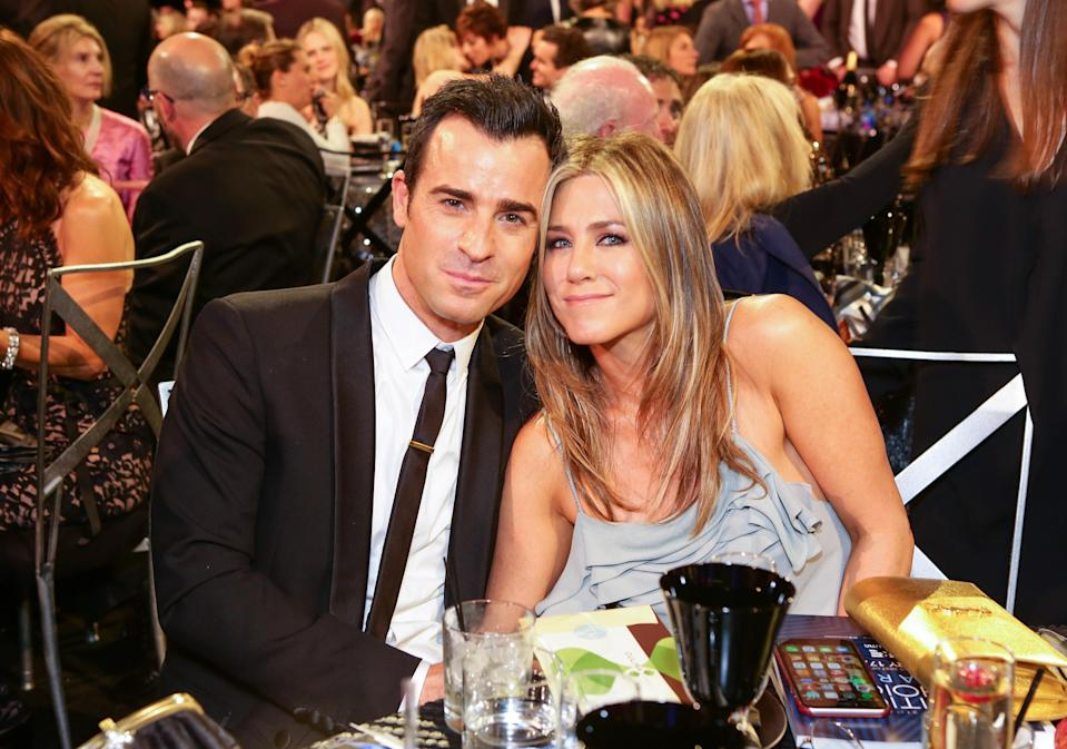 Jennifer split from her second hubby, Justin Theroux, earlier this year. Source: Getty