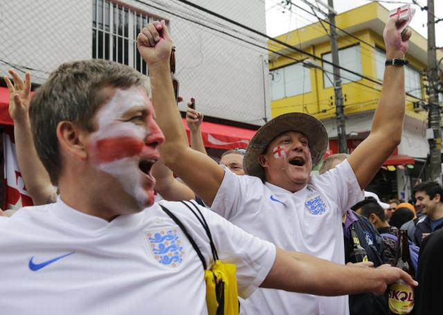 Brazil Soccer WCup England