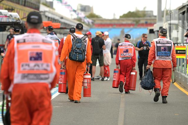 Formula One cancelled the Australian Grand Prix and postponed the next three races in Bahrain, Vietnam and China.
