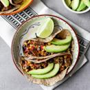 <p>The key to making the easiest tacos ever? Using prepared carne asada. We make this healthy dinner with just three ingredients--thanks to the help of convenience items like frozen meals--and then freshen it up with sliced avocado.</p>