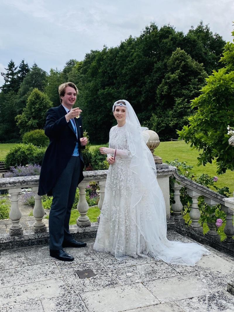 UK secret coronavirus wedding of Princess Raiyah and Ned Donovan