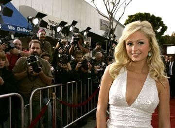 """Premiere: <a href=""""/movie/contributor/1804456555"""">Paris Hilton</a> at the Westwood premiere of Warner Bros. Pictures' <a href=""""/movie/1808631292/info"""">House of Wax</a> - 4/26/2005<br>Photo: <a href=""""http://www.wireimage.com/"""">Jeff Vespa, WireImage.com</a>"""