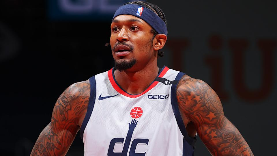 Washington's Bradley Beal has dominated fantasy basketball rankings, but the Wizards remain one of the NBA's worst teams in 2021. (Photo by Ned Dishman/NBAE via Getty Images)