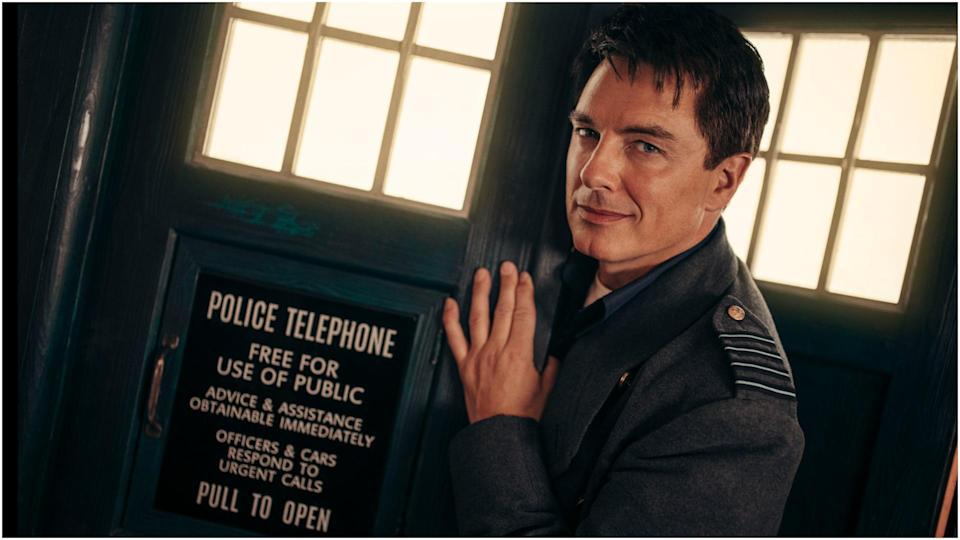 Captain Jack Harkness in Doctor Who