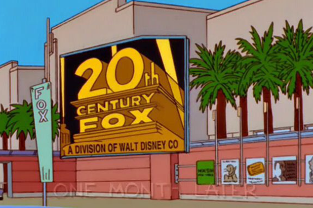 'The Simpsons' Predicted Disney Would Buy 21st Century Fox Back in 1998