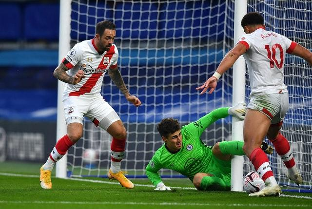 It was another day to forget for Kepa